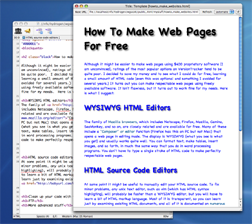 how to make a web page Make a free website with our free website builder we offer free hosting and a free website address get your business on google, yahoo & bing today.