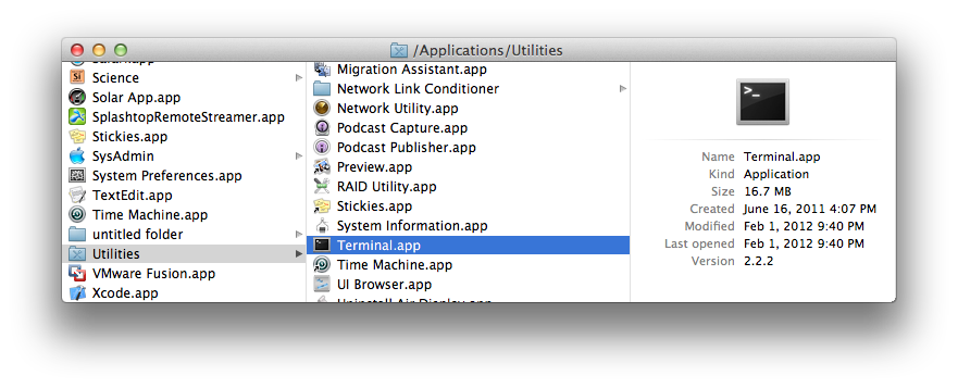 How to set up you Unix Environment for OS X - OS X Scientific Computing